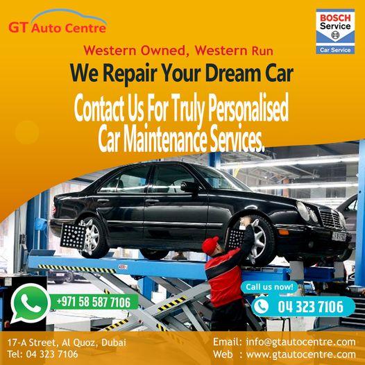 BMW Car Services In Dubai